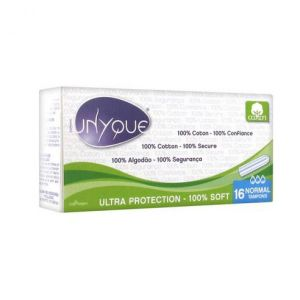 Unyque - Tampons Bio Normal - 16 tampons